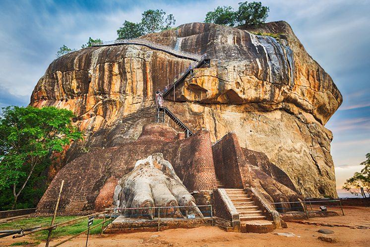 Sigiriya rock. Panorama