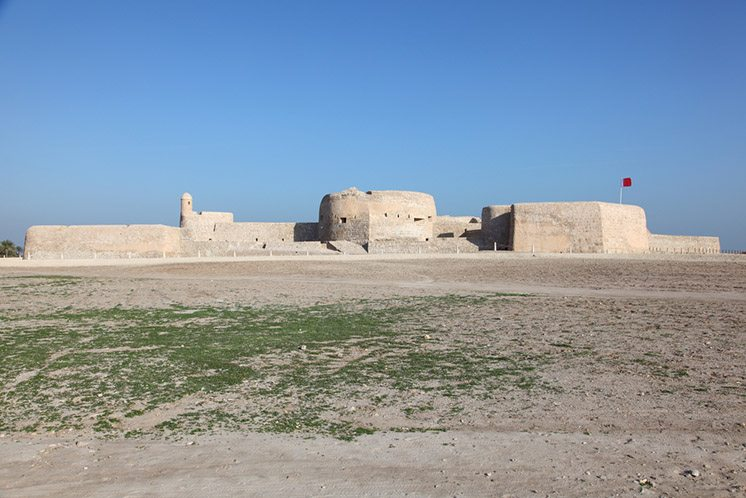 Qal'at al-Bahrain Site Museum (Fort of Bahrain) in Manama, Bahra