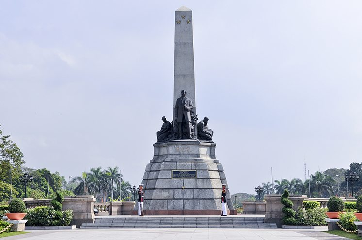 Manila, Phillipines-February 01, 2009: Rizal Park also known as