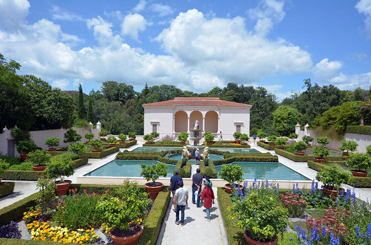 Italian Renaissance Garden in Hamilton Gardens - New Zealand