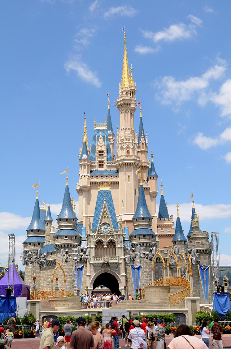 Castle at Disney World in ORlando