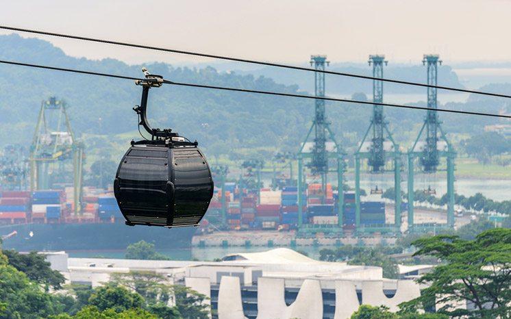 Cable car, Singapore