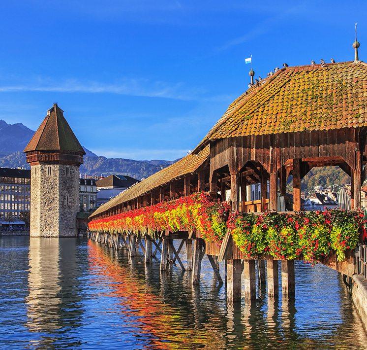 Morning in Lucerne
