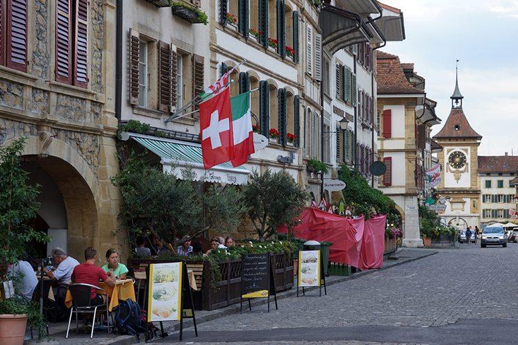 Restaurants on the street