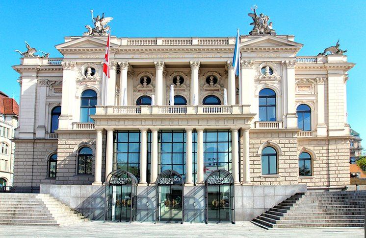Zurich opera house.