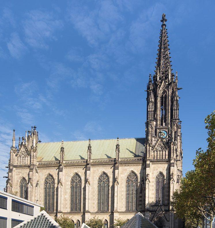 Elisabethenkirche church in Basel