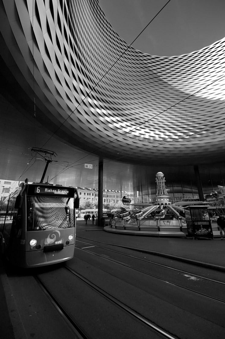 BASEL, SWITZERLAND - NOVEMBER 01 2014: Exhibition Center in the
