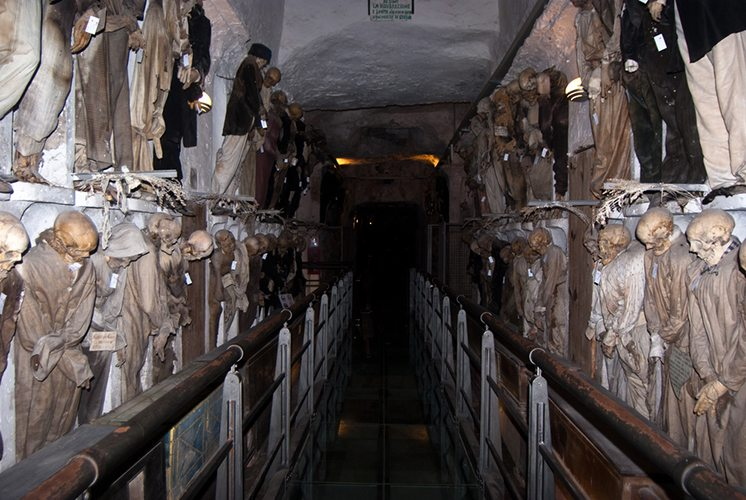 Catacombs of the Capuchins. Palermo