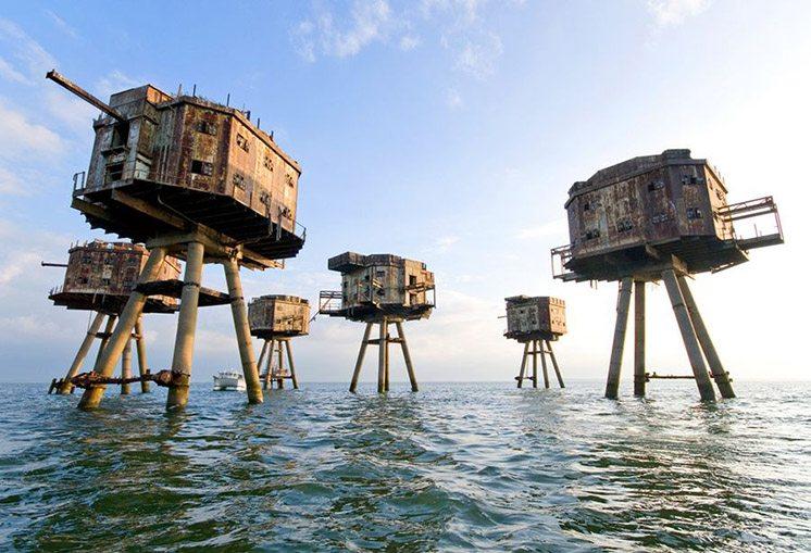 maunsell-sea-forts-north-sea-england